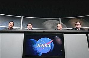NASA desk