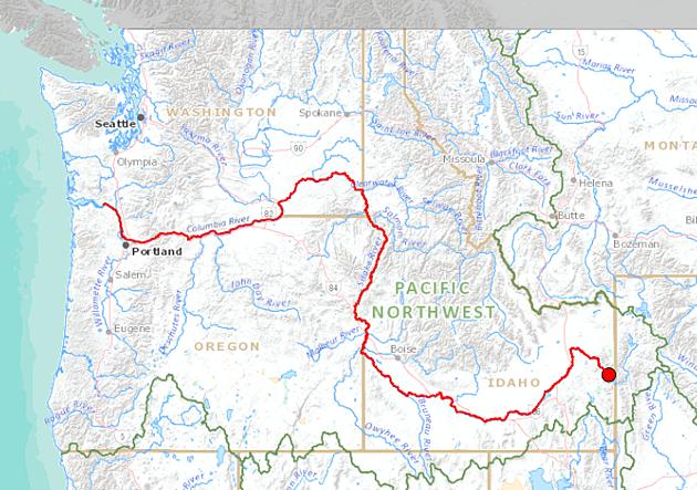 Have You Ever Wondered Where The Snake River Begins - Snake river world map