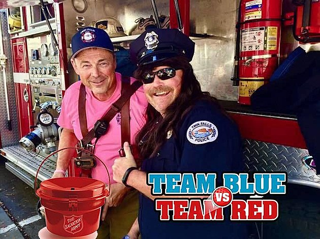 Team Red vs Team Blue Photo Credit Twin Falls Police Department
